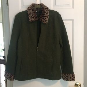 Beautiful Carole Little Wool Jacket